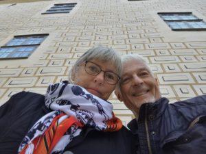 Thorells uppåt väggarna - i Kalmar slott oktober 2015